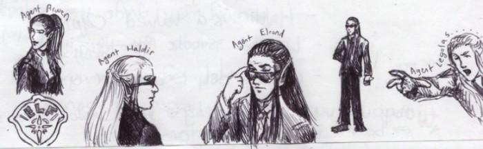 The Elven Agents