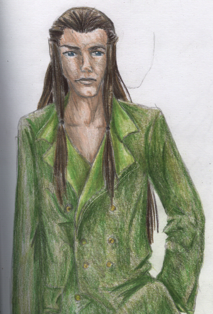 A Modern Elrond... He looks good in green! :D